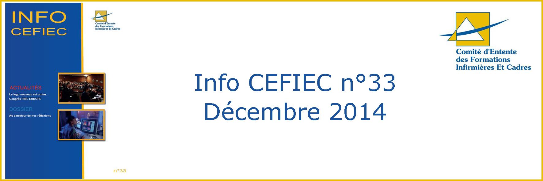Info Cefiec n°33