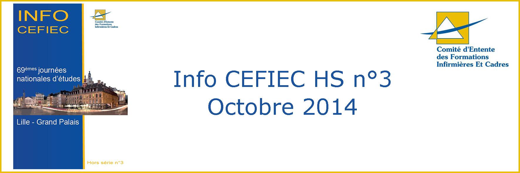 Info CEFIEC HS n°3